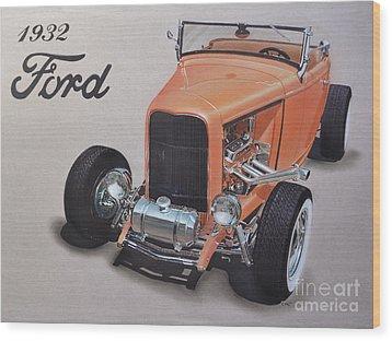 1932 Ford Wood Print by Paul Kuras