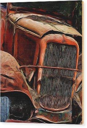 1932 Memories Wood Print by Cary Shapiro