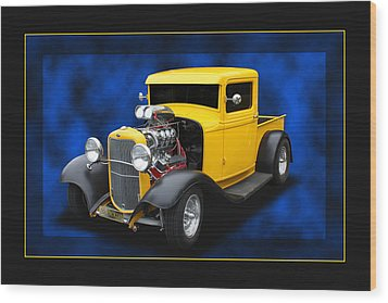 Wood Print featuring the photograph 1932 Pickup by Keith Hawley