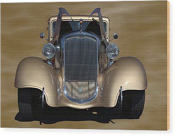 1933 Plymouth Hot Rod Coupe Wood Print by Tim McCullough