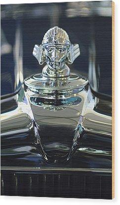 1933 Stutz Dv-32 Hood Ornament 2 Wood Print by Jill Reger