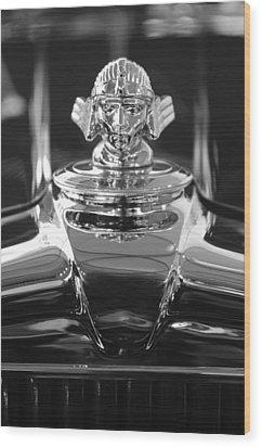 1933 Stutz Dv-32 Hood Ornament 4 Wood Print by Jill Reger