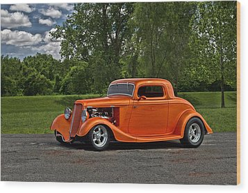1934 Ford Coupe Wood Print by Tim McCullough