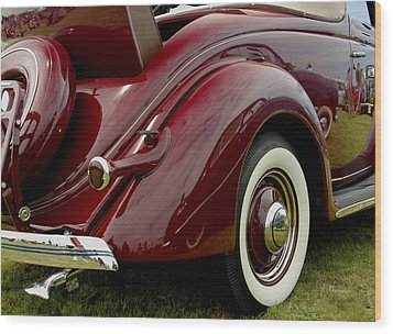 1936 Ford Phaeton Wood Print by James C Thomas
