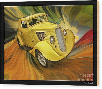 1936 Willys Wood Print