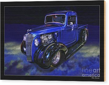 1937 Chevrolet Pickup Truck Wood Print by Blake Richards