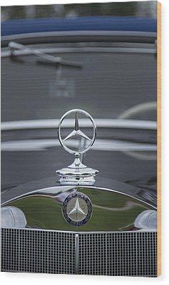 1937 Mercedes Benz Wood Print