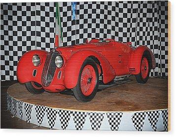 1938 Alfa Romeo 2900b Mm Wood Print by Boris Mordukhayev