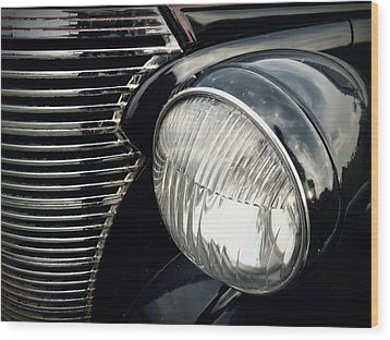 Wood Print featuring the photograph 1938 Chevrolet Deluxe Sedan by Joseph Skompski