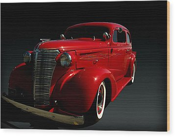 1938 Chevrolet Sedan Hot Rod Wood Print by Tim McCullough