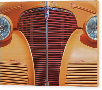 1939 Chevy Wood Print