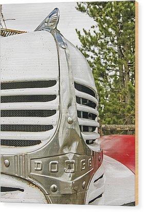 1939 Dodge Truck Grill Wood Print