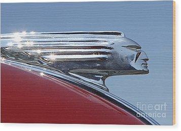 1939 Pontiac Hood Ornament Wood Print