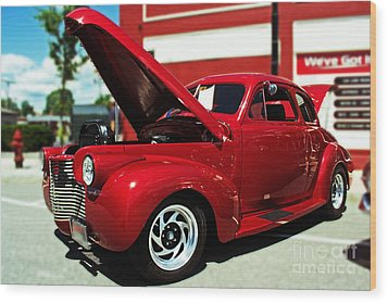 1940 Chevy Wood Print by Kevin Fortier