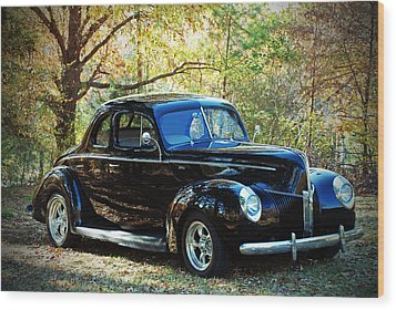 1940 Ford Coupe  Wood Print