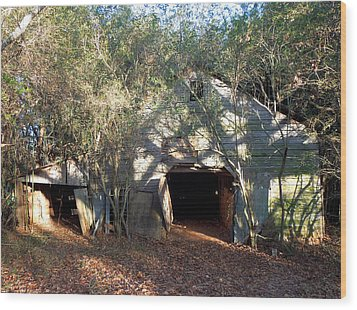 Wood Print featuring the photograph 1940's Barn by Pete Trenholm
