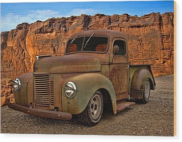 1941 International Pickup Wood Print by Tim McCullough