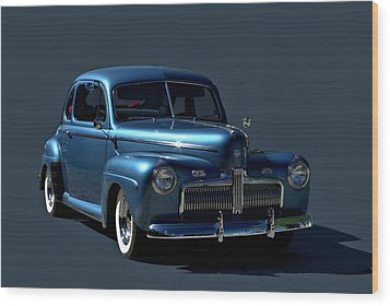 1942 Ford Coupe Wood Print by Tim McCullough