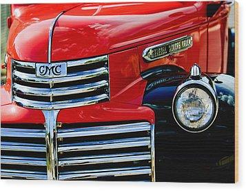 1942 Gmc  Pickup Truck Wood Print