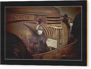 1946 Chevy Truck Wood Print