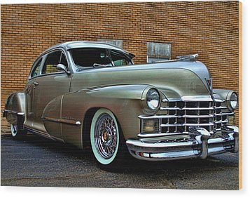 1947 Cadillac Street Rod Wood Print by Tim McCullough