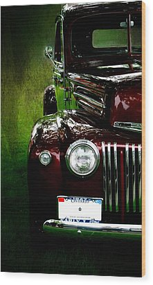 1947 Ford Wood Print by Amanda Struz