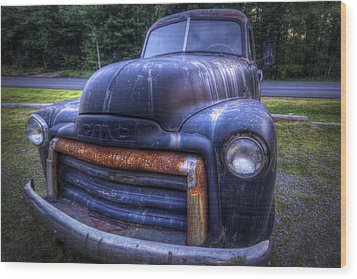 1947 Gmc Wood Print by Eric Gendron