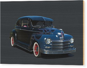 1947 Plymouth Wood Print by Tim McCullough
