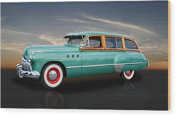 1949 Buick Super Woody Wood Print