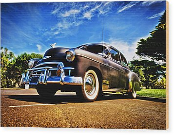 1949 Chevrolet Deluxe Wood Print by motography aka Phil Clark