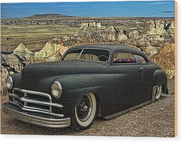 1949 Plymouth Low Rider Wood Print by Tim McCullough