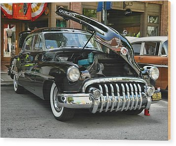1950 Buick 2 Wood Print by Victor Montgomery