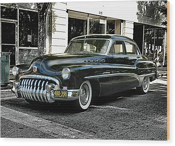 Wood Print featuring the photograph 1950 Buick by Victor Montgomery