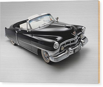Wood Print featuring the photograph 1950 Cadillac Convertible by Gianfranco Weiss