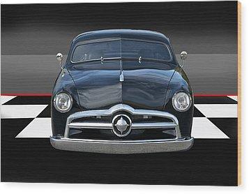 1950 Ford Custom I Wood Print by Dave Koontz