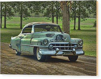 1951 Cadillac Wood Print by Tim McCullough