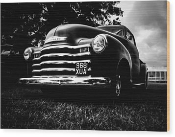 1951 Chevy Pickup Wood Print by motography aka Phil Clark