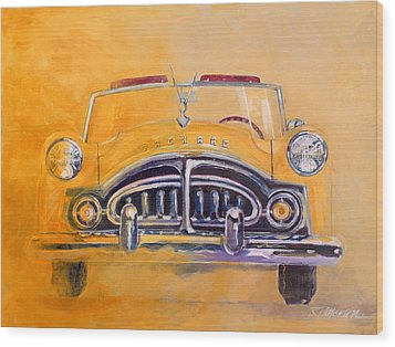 1951 Packard Clipper Wood Print by Ron Patterson