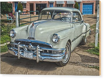 1951 Pontiac Chieftain Side View Wood Print