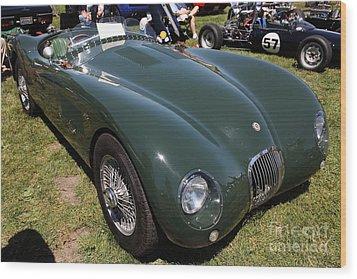1952 Jaguar Xk120 Roadster 5d22967 Wood Print by Wingsdomain Art and Photography