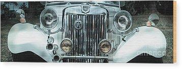 1952 Mg Wood Print by Steven Digman