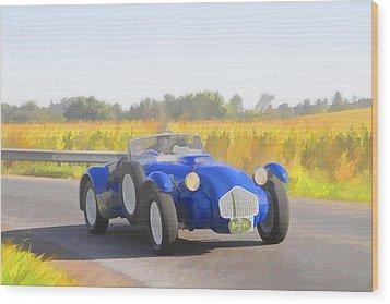 1953 Allard J2x Roadster Wood Print