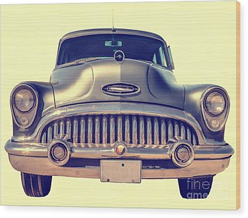 1953 Buick Roadmaster Wood Print by Edward Fielding