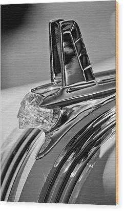 1953 Pontiac Hood Ornament 4 Wood Print by Jill Reger