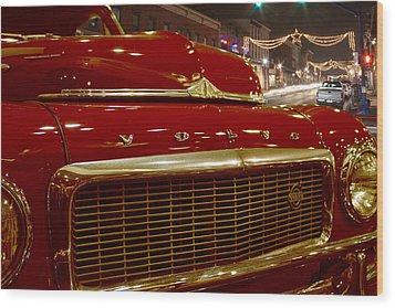 1953 Volvo Pv 444 Wood Print by Michael Porchik