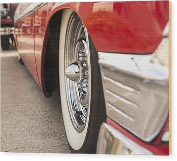 1956 Chevy Custom Wood Print