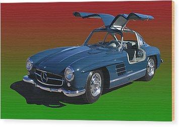 1955 Mercedes Benz 300 S L  Wood Print