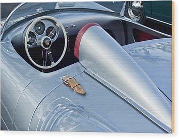 1955 Porsche Spyder  Wood Print