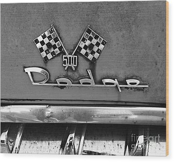 1956 Chevy 500 Series Photo 8 Wood Print by Anna Villarreal Garbis