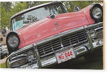 1956 Classic Car Wood Print